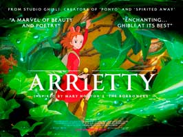 Arrietty - 30 x 40 Movie Poster UK - Style A
