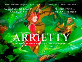 Arrietty - 43 x 62 Movie Poster - UK Style A