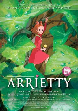 Arrietty - 27 x 40 Movie Poster - Danish Style A