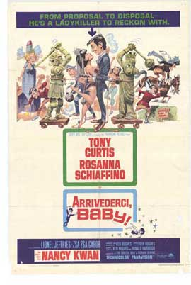 Arrivederci, Baby! - 11 x 17 Movie Poster - Style A