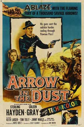 Arrow in the Dust - 11 x 17 Movie Poster - Style A