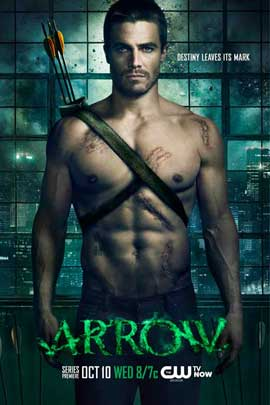 Arrow (TV) - 11 x 17 TV Poster - Style E