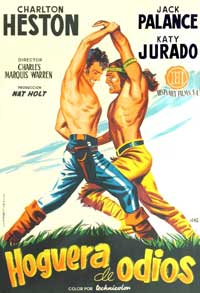 Arrowhead - 11 x 17 Movie Poster - Spanish Style A