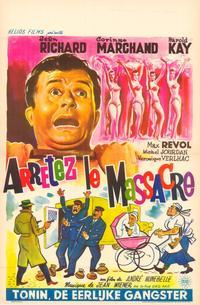 Arr�tez le massacre - 11 x 17 Movie Poster - Belgian Style A