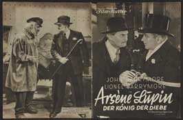 Arsene Lupin - 27 x 40 Movie Poster - German Style A