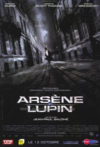 Arsene Lupin - 30 x 40 Movie Poster - French Style A