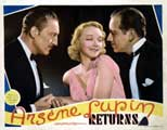 Arsene Lupin Returns - 22 x 28 Movie Poster - Half Sheet Style A