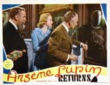 Arsene Lupin Returns - 22 x 28 Movie Poster - Half Sheet Style B