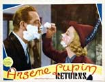 Arsene Lupin Returns - 22 x 28 Movie Poster - Half Sheet Style D