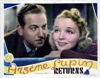 Arsene Lupin Returns - 22 x 28 Movie Poster - Half Sheet Style C