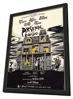 Arsenic and Old Lace (Broadway) - 27 x 40 Movie Poster - Style A - in Deluxe Wood Frame