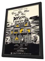 Arsenic and Old Lace (Broadway) - 11 x 17 Poster - Style A - in Deluxe Wood Frame