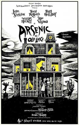 Arsenic and Old Lace (Broadway) - 27 x 40 Poster - Style A