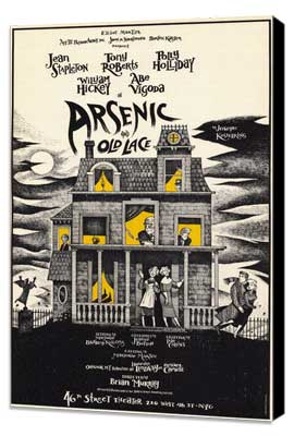 Arsenic and Old Lace (Broadway) - 11 x 17 Poster - Style A - Museum Wrapped Canvas