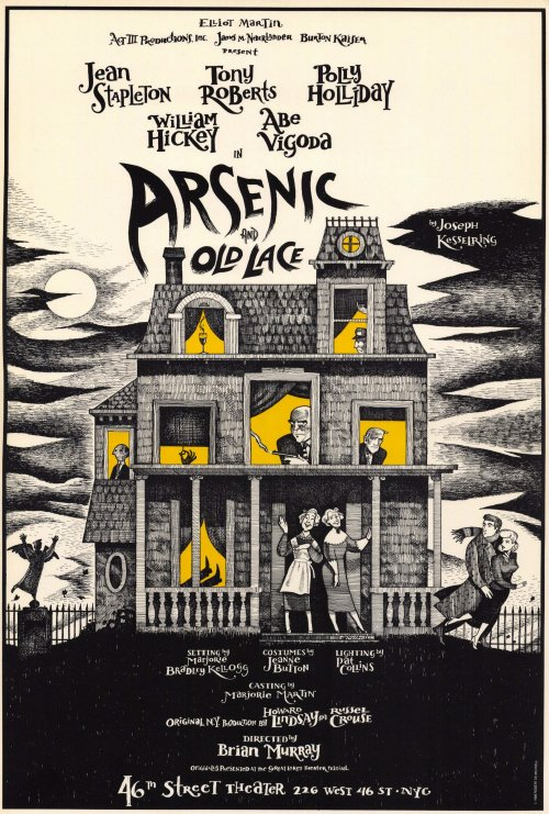 an analysis of arsenic and old lace a movie This one-page guide includes a plot summary and brief analysis of arsenic and old lace by joseph arsenic and old lace cbs and abc tv movie.