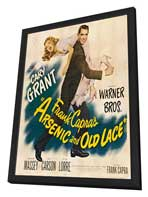 Arsenic and Old Lace - 30 x 30 Movie Poster - Style A - in Deluxe Wood Frame