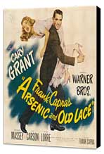 Arsenic and Old Lace - 30 x 30 Movie Poster - Style A - Museum Wrapped Canvas