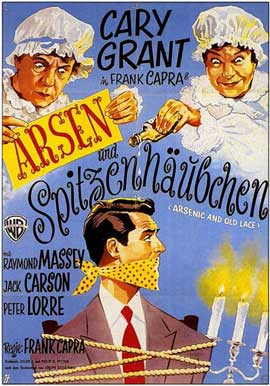 Arsenic and Old Lace - 11 x 17 Movie Poster - German Style A