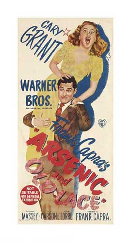 Arsenic and Old Lace - 14 x 36 Movie Poster - Australian Style A