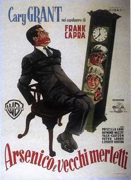 Arsenic and Old Lace - 11 x 17 Movie Poster - Italian Style A