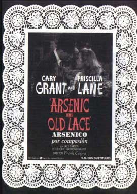 Arsenic and Old Lace - 11 x 17 Movie Poster - Spanish Style A