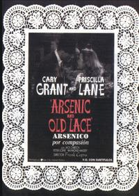 Arsenic and Old Lace - 27 x 40 Movie Poster - Spanish Style A