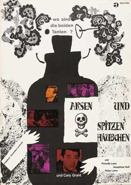 Arsenic and Old Lace - 27 x 40 Movie Poster - German Style B