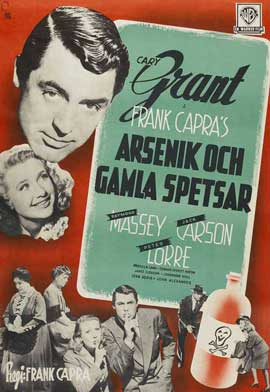 Arsenic and Old Lace - 11 x 17 Movie Poster - Style C