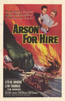 Arson for Hire - 11 x 17 Movie Poster - Style A