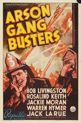 Arson Gang Busters - 27 x 40 Movie Poster - Style A