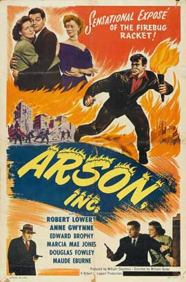 Arson, Inc. - 27 x 40 Movie Poster - Style B