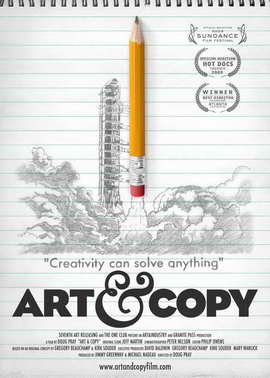 Art & Copy - 11 x 17 Movie Poster - Style A