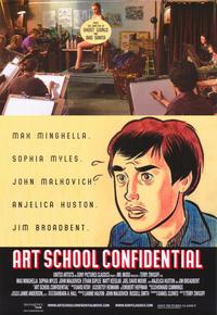 Art School Confidential - 43 x 62 Movie Poster - Bus Shelter Style A