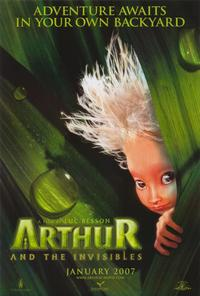 Arthur and the Invisibles - 11 x 17 Movie Poster - Style A