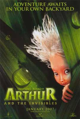 Arthur and the Invisibles - 27 x 40 Movie Poster - Style A