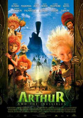 Arthur and the Invisibles - 11 x 17 Movie Poster - Style E