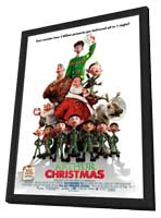 Arthur Christmas - 11 x 17 Movie Poster - Style D - in Deluxe Wood Frame