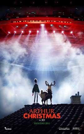 Arthur Christmas - 11 x 17 Movie Poster - Style A