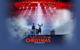 Arthur Christmas - 11 x 17 Movie Poster - Style B