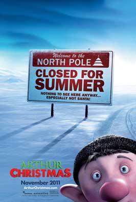 Arthur Christmas - 27 x 40 Movie Poster - Style B