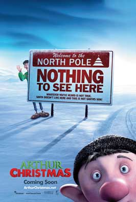 Arthur Christmas - 11 x 17 Movie Poster - UK Style A