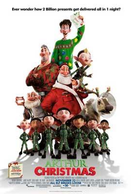 Arthur Christmas - 11 x 17 Movie Poster - Style D