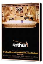 Arthur - 27 x 40 Movie Poster - Style A - Museum Wrapped Canvas