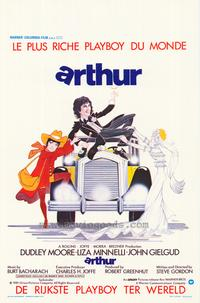 Arthur - 11 x 17 Movie Poster - Belgian Style A