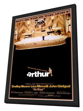 Arthur - 11 x 17 Movie Poster - Style A - in Deluxe Wood Frame
