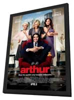 Arthur - 27 x 40 Movie Poster - Style A - in Deluxe Wood Frame