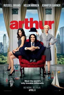 Arthur - 11 x 17 Movie Poster - Style B