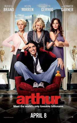 Arthur - 11 x 17 Movie Poster - Style C