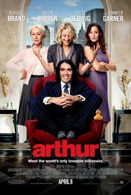 Arthur - 43 x 62 Movie Poster - Bus Shelter Style A