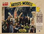 Artists and Models - 11 x 14 Movie Poster - Style D